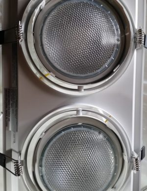 LAMP. TECHO BLANCA 2L 60W E27 G53 GU10